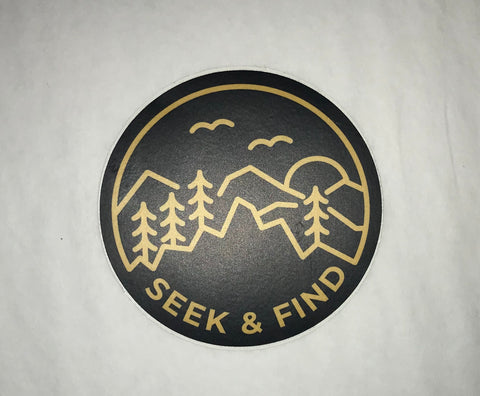 Seek & Find Sticker