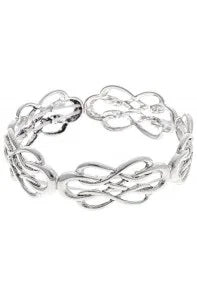 Silver Celtic Twist Bracelet