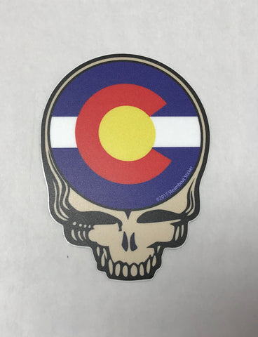 Steal Your Face CO Sticker