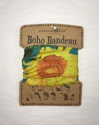 Sunflower Boho Bandeau