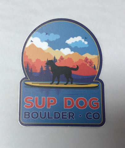 Sup Dog Boulder Sticker