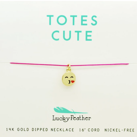 Totes Cute Cord Necklace