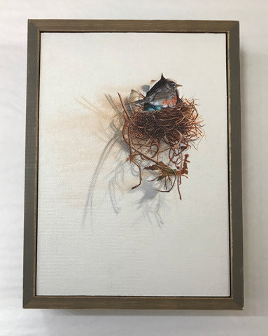 Urban Loft Bird Mini Canvas