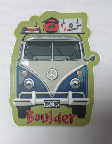 Boulder Bus Sticker