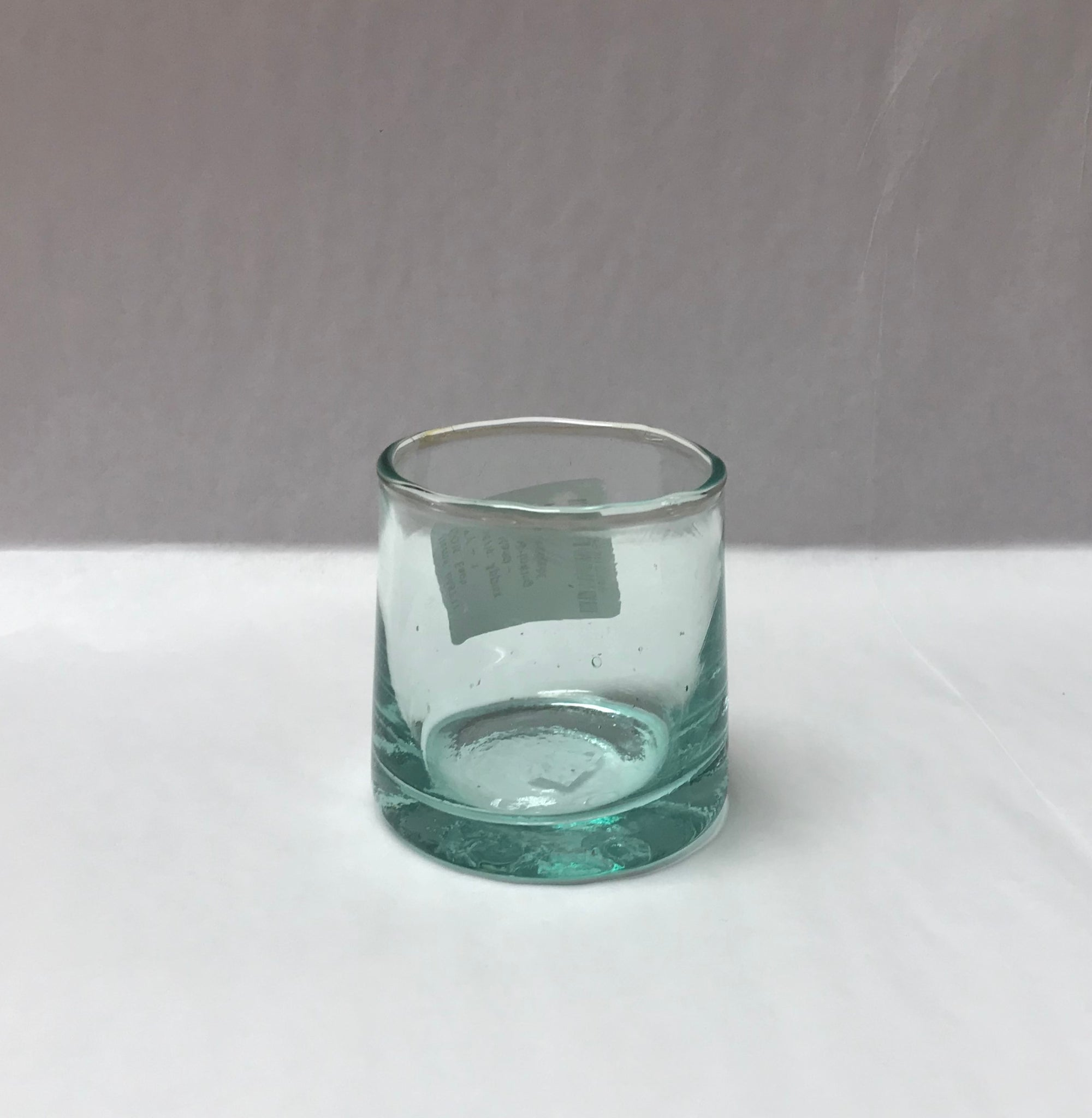 Small Green Glass (or Votive Holder)
