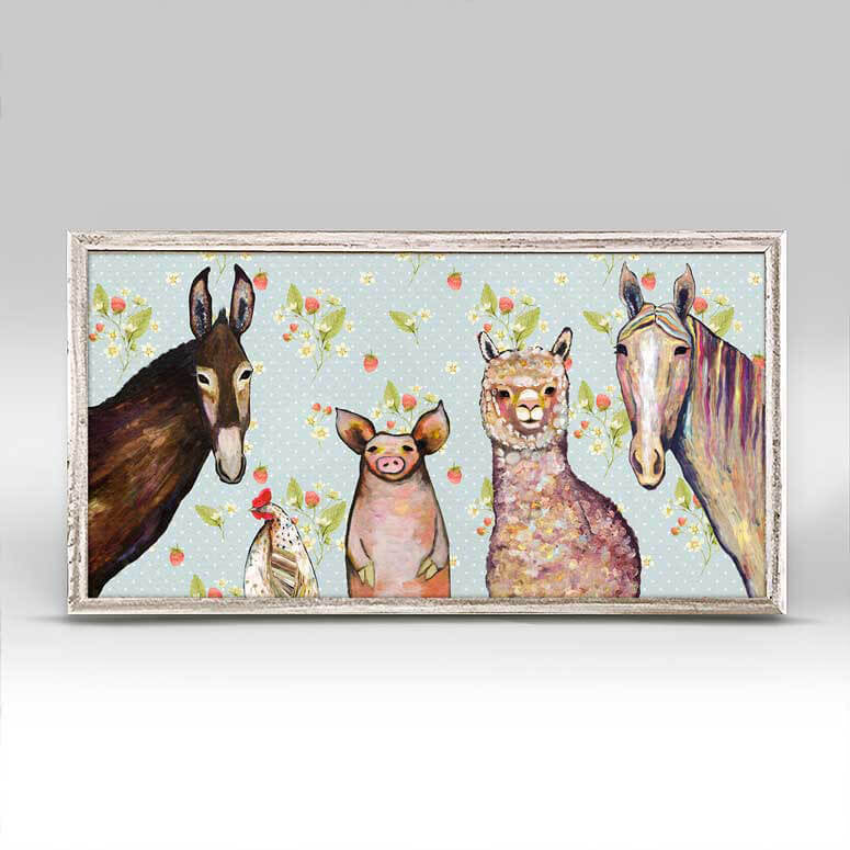 Alpaca & Pals Mini Canvas