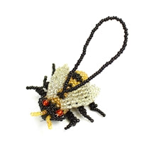 Bee Beaded Ornament