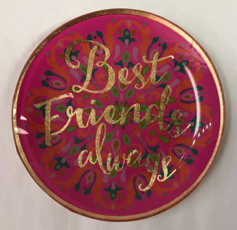 Best Friends Always Trinket Dish
