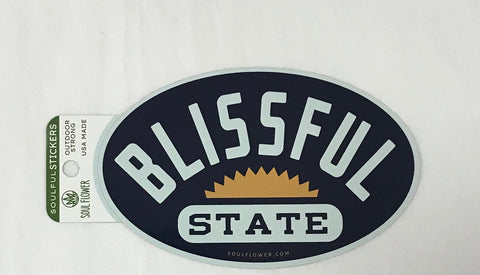 Blissful State Sticker