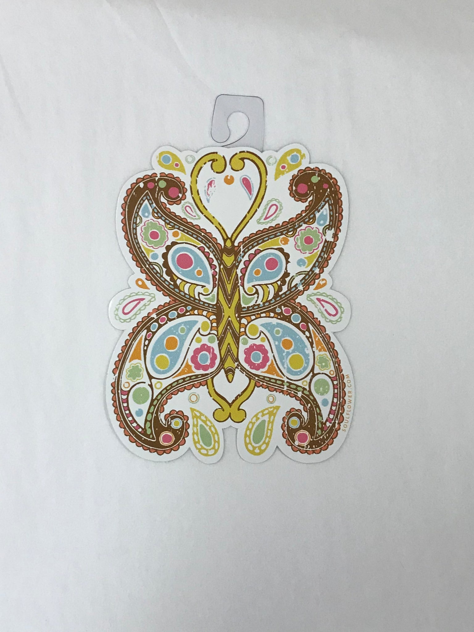 Paisley Butterfly Sticker