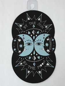By The Sun By The Moon Sticker
