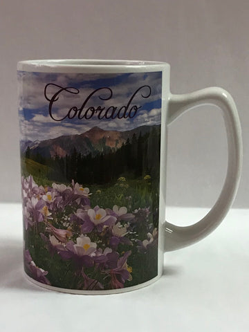 Colorado Columbine Mug