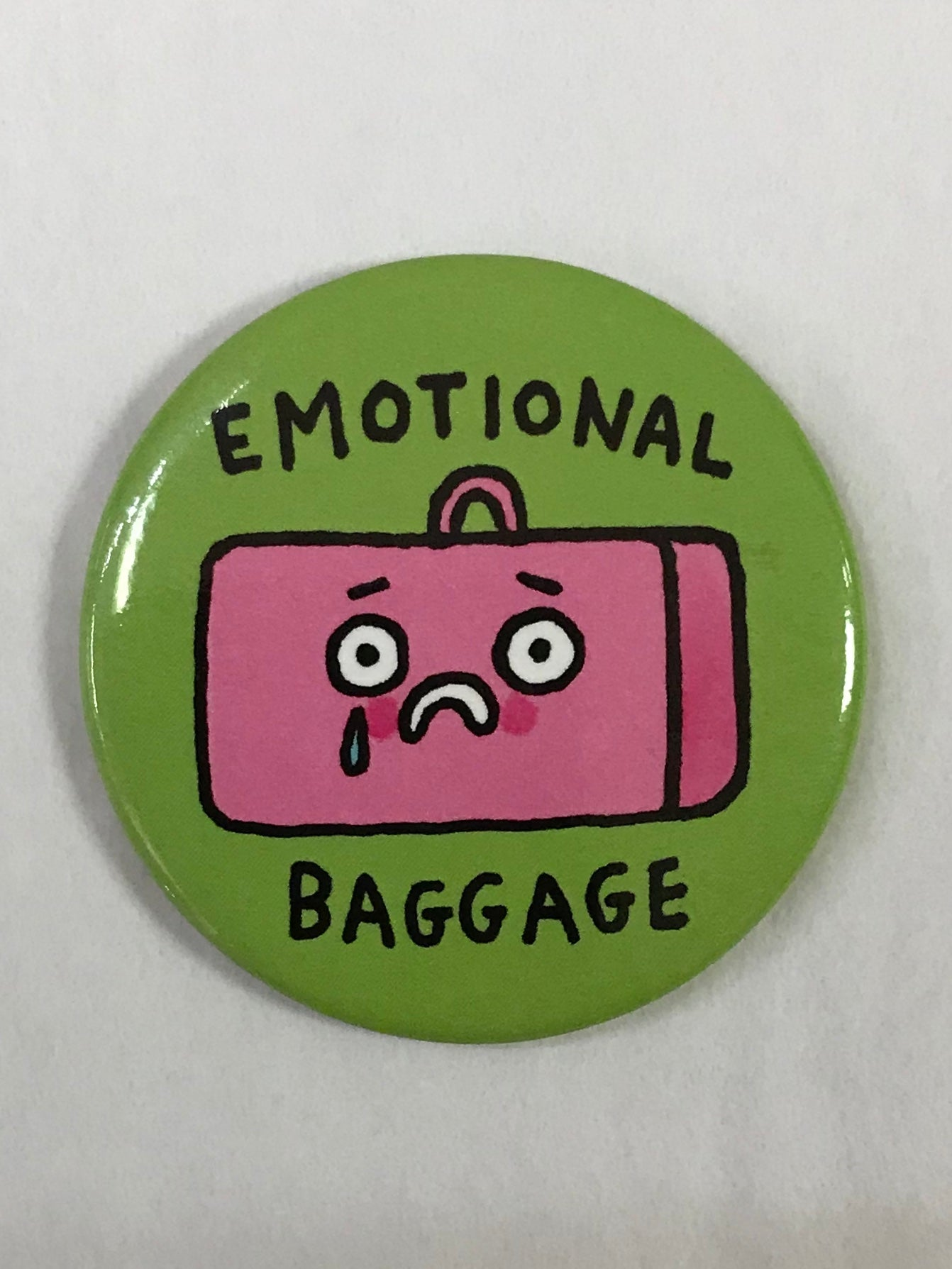 Emotional Baggage Magnet