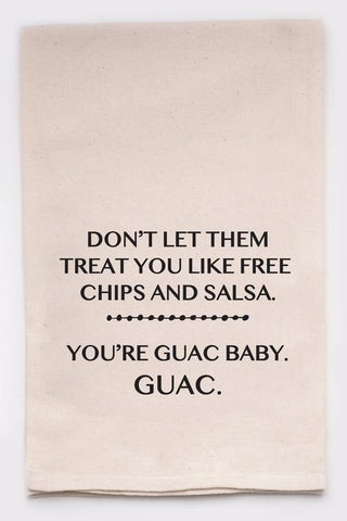 You're Guac Baby Kitchen Towel