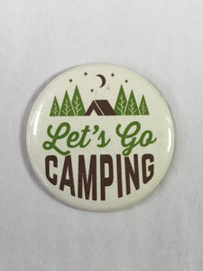 Let's Go Camping Magnet