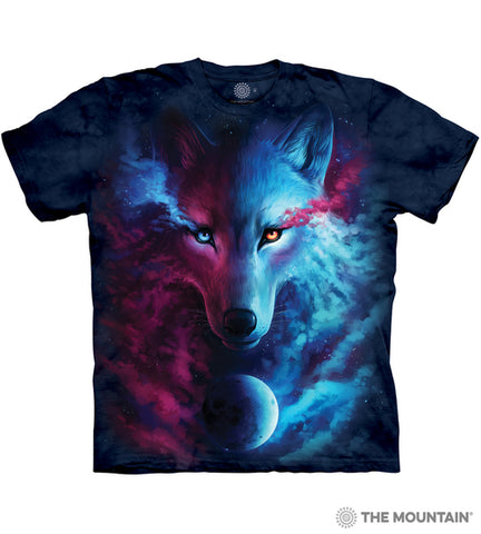 Where Light Meets Dark Wolf Tee