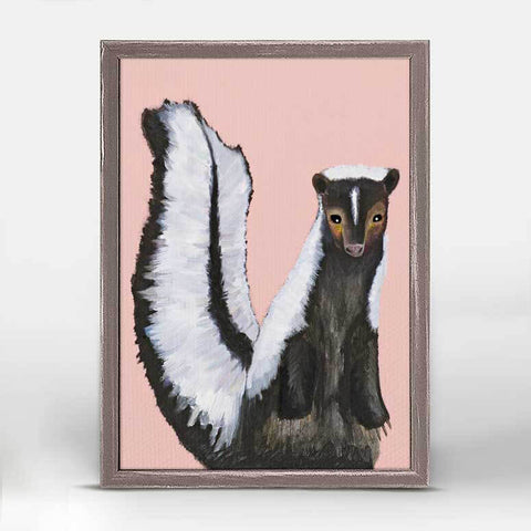 Miss Skunk Mini Canvas