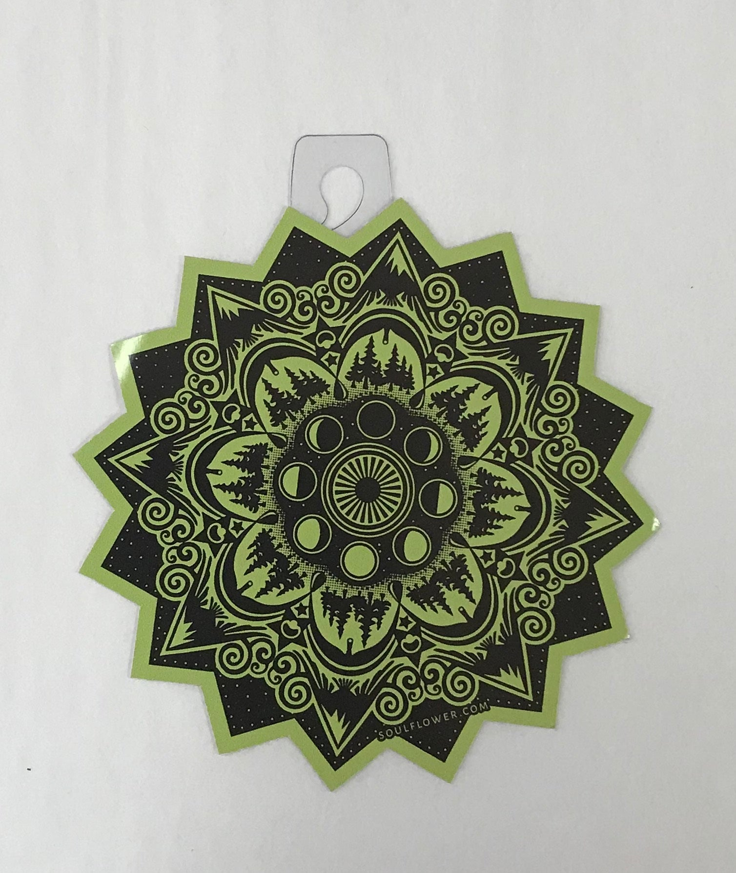 Mountain Mandala Sticker