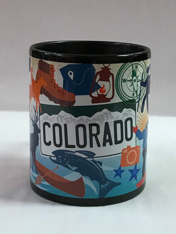 CO Pop Art Mug