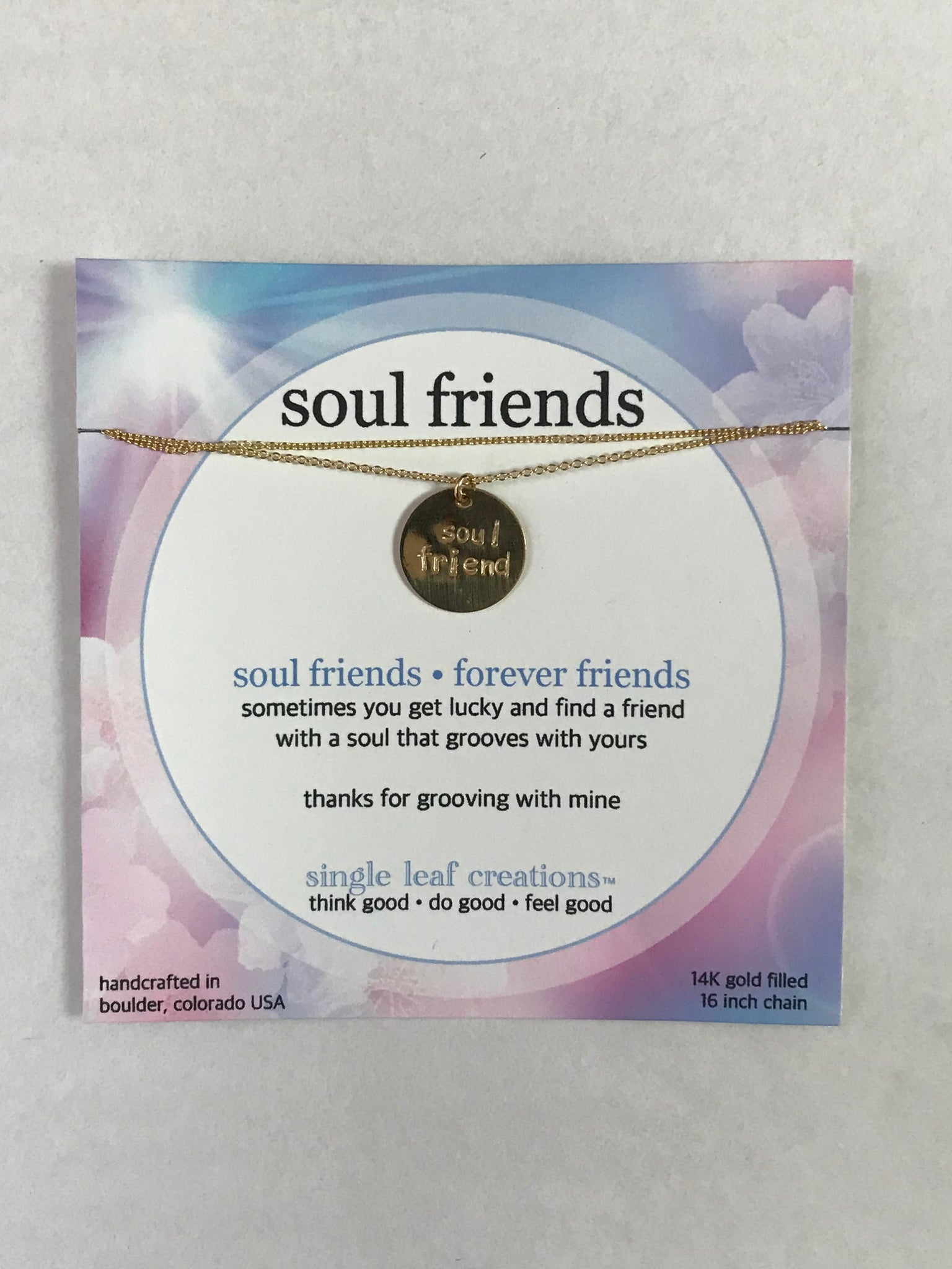 Soul Friend Gold-Filled Necklace