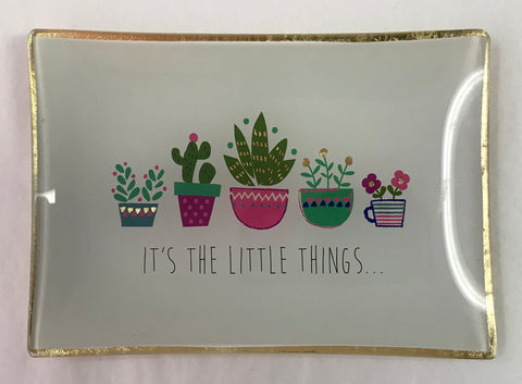 Little Things Cactus Trinket Dish