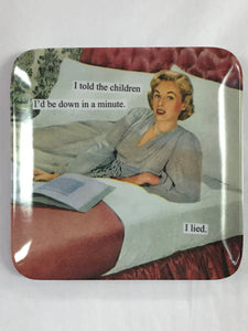 Told The Children Melamine Tray