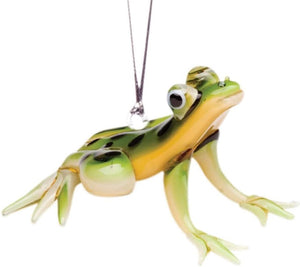 Glass Tree Frog Ornament