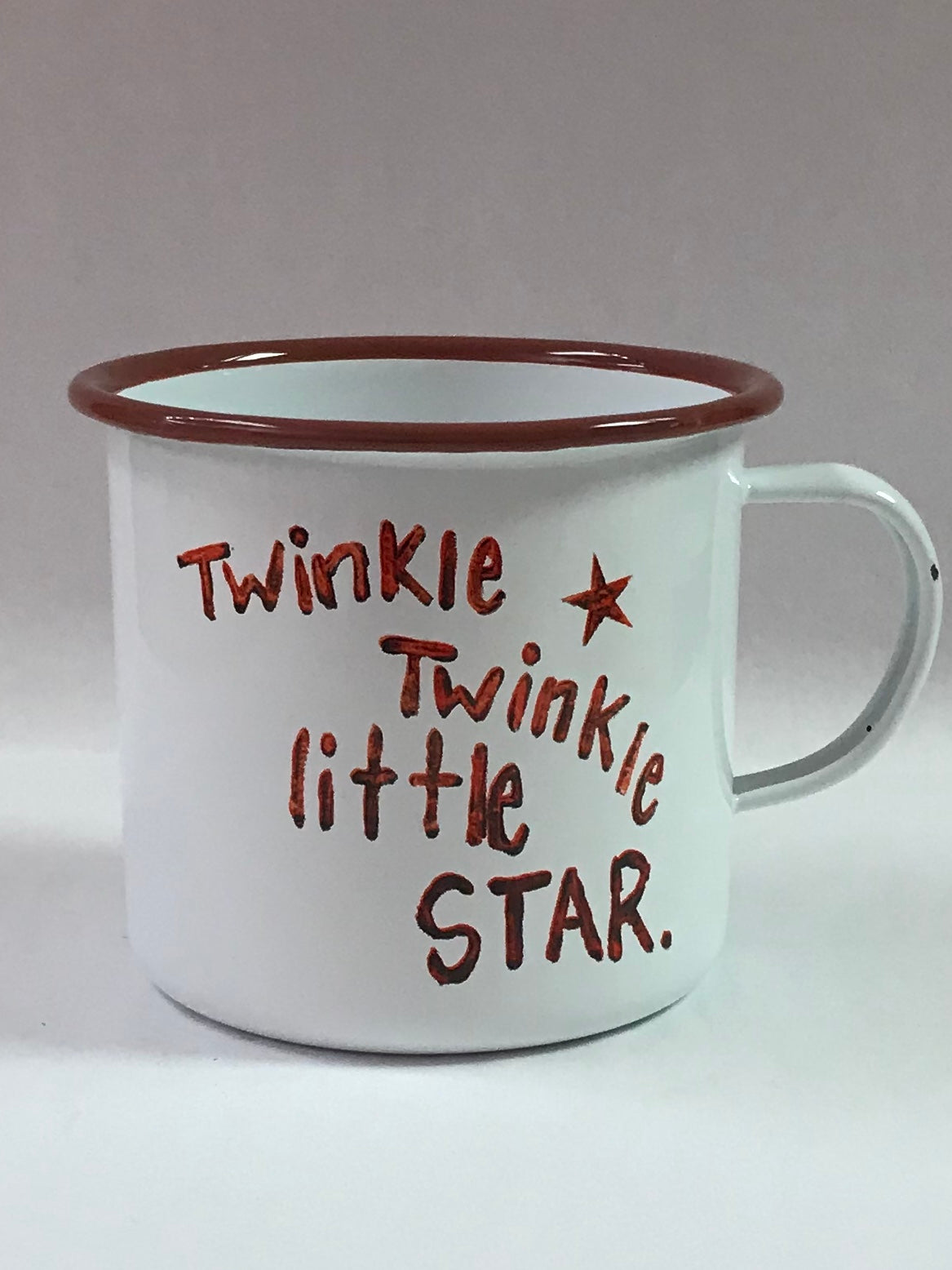 Twinkle Little Star Enamel Mug