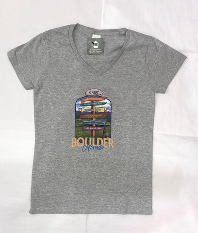 Signpost Destinations Women's Tee