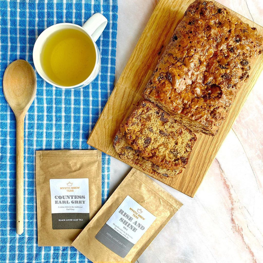 Nan's Tea Loaf Recipe by @locatinglucy | Mystic Brew Teas