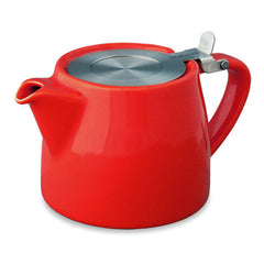 Forlife Stump Teapot with Infuser 13oz in a variety of colours - Mystic Brew Teas