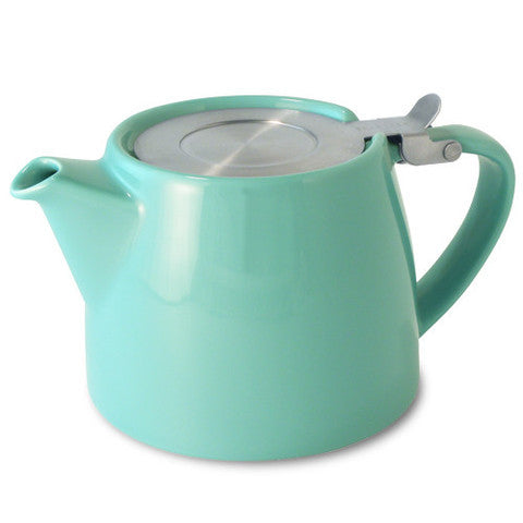 Forlife Stump Teapot with Infuser 13oz in a variety of colours
