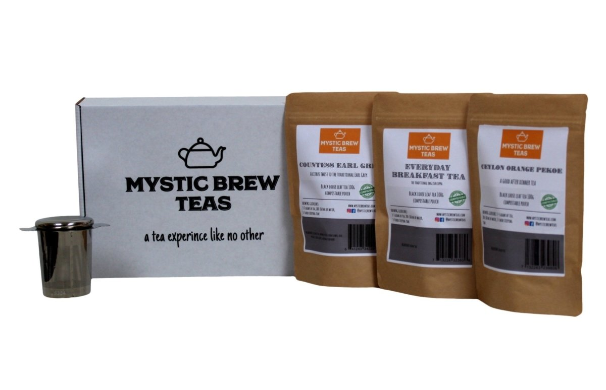 Black Teas Box Set - Mystic Brew Teas