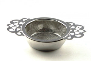 Empress Tea Room Strainer with Drip Bowl - Mystic Brew Teas