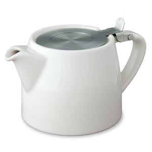 Forlife Stump Teapot with Infuser 18oz in a variety of colours - Mystic Brew Teas