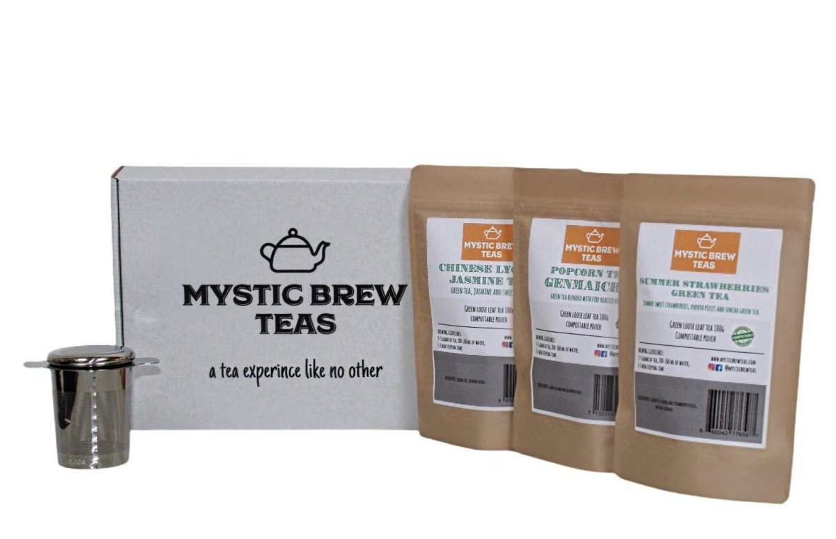 Green Teas Box Set - Mystic Brew Teas