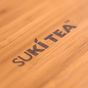 Suki Bamboo Tea Tray Plus A Sample Of Mystic Brew's Loose Leaf Tea - Mystic Brew Teas