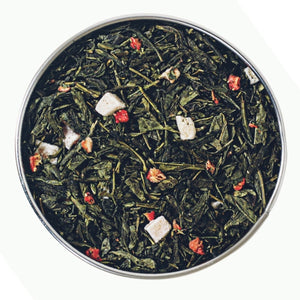 Summer Strawberry Green Tea - Mystic Brew Teas