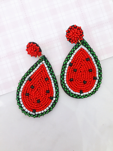 watermelon earring
