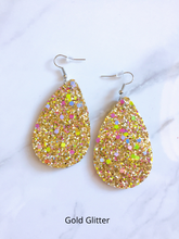 Load image into Gallery viewer, HOLIDAY DROP GLITTER EARRINGS