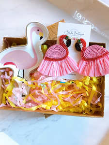 JOY BOX - WHIMSICAL FLAMINGO