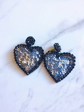 Load image into Gallery viewer, GIVE YOU MY HEART SEQUINS EARRINGS