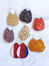 Load image into Gallery viewer, glitter earrings