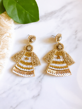 Load image into Gallery viewer, BEADED ANGEL EARRINGS