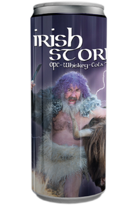 IRISH STORM – OPC – WHISKEY – COLA – 250 ml – 10,2 % vol.