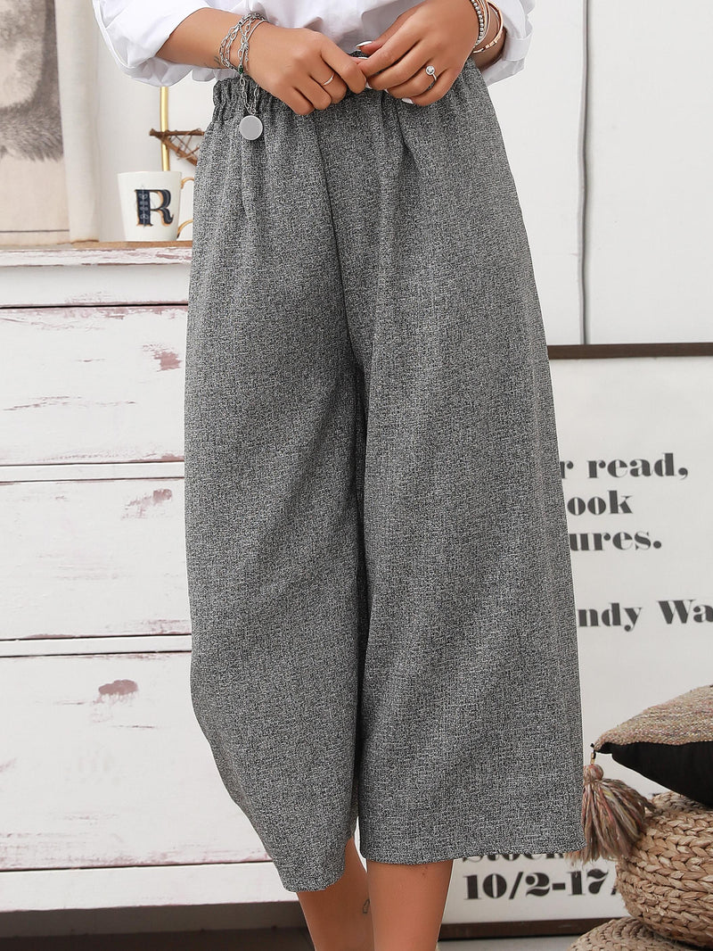 Dark Grey Shift Casual Pants