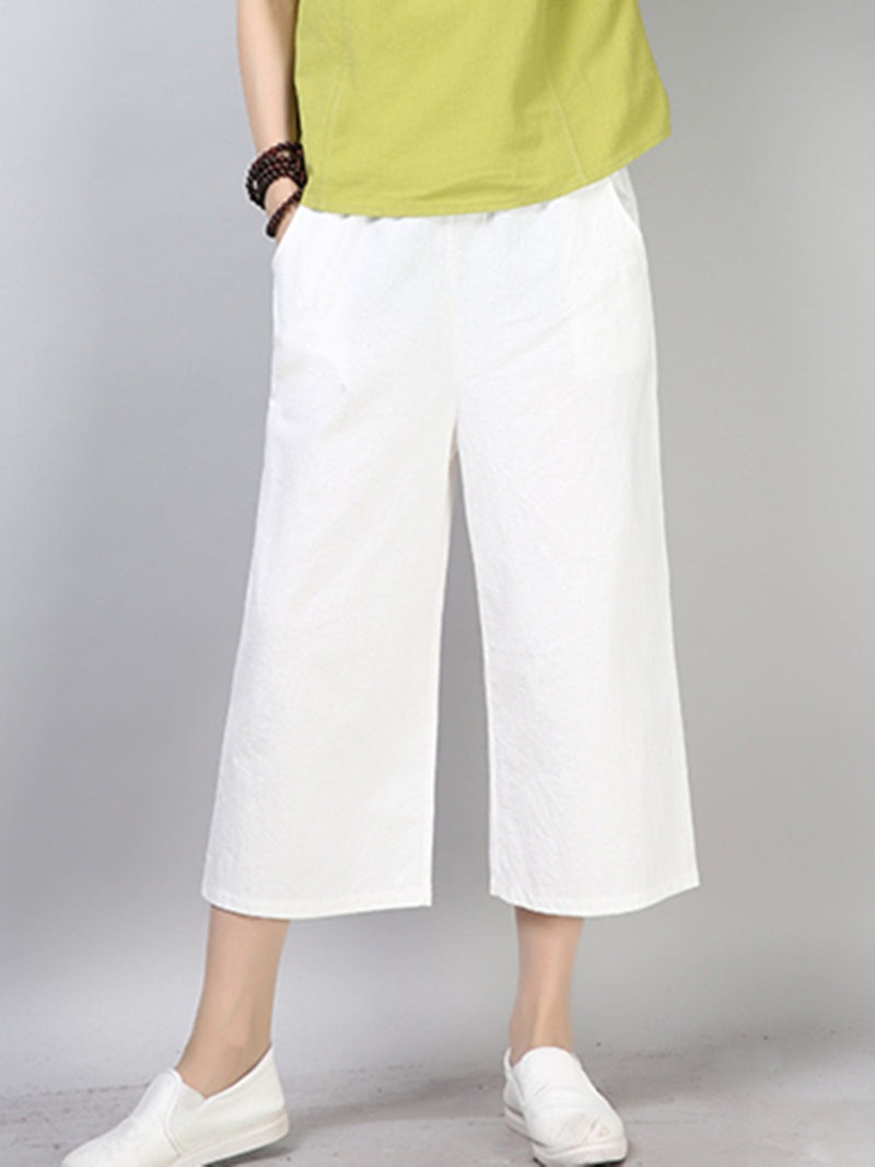Simple Cotton Pants