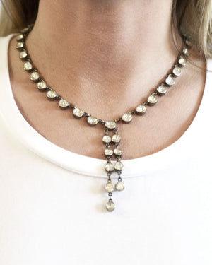 Diamond Chandelier Necklace