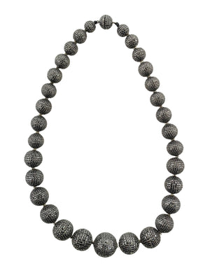 Black Diamond Graduated Pave Balls
