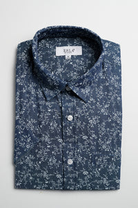 Casual Printed Denim Shirt